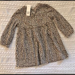 GAP Dresses - NEW Baby Gap leopard print dress